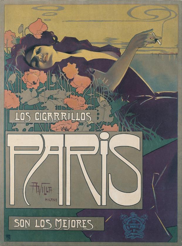 Aleardo Villa, Los Cigarillos Paris, 1901