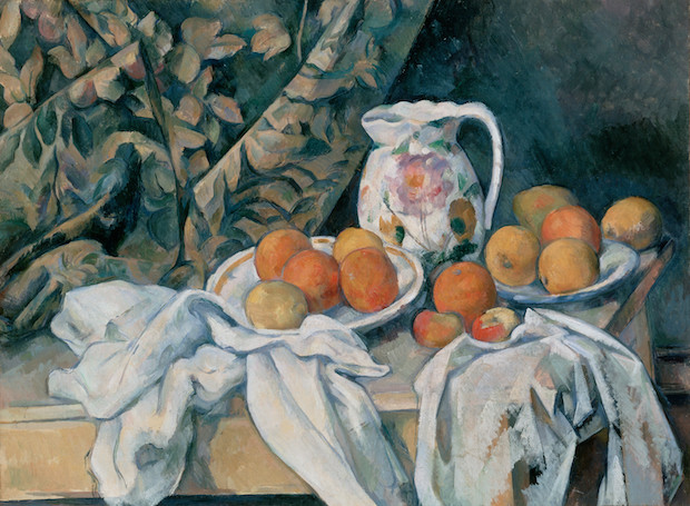 Paul Cezanne, Still Life with a Curtain, 1895, Hermitage Museum