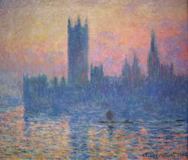 Claude Monet, The Houses of Parliament, Sunset, 1903, National Gallery of Art Washington