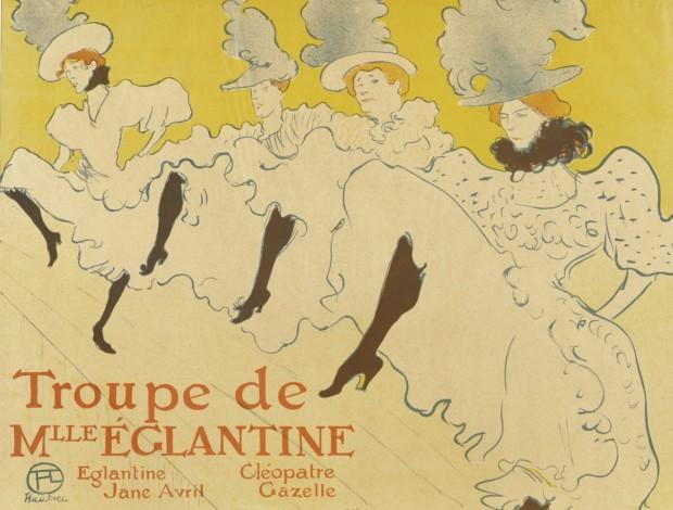 Henri de Toulouse-Lautrec, La Troupe de Mademoiselle Eglantine, 1895, Metropolitan Museum of Art