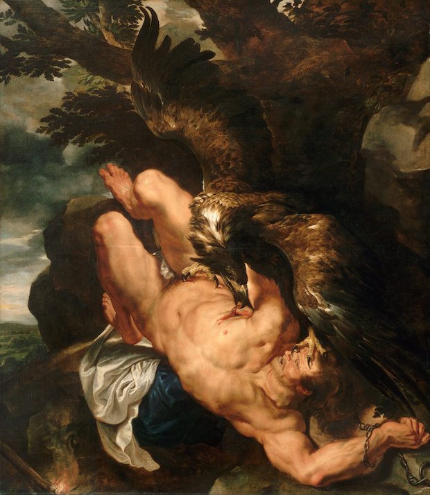 Frans Snyders and Peter Paul Rubens, Prometheus Bound, 1618