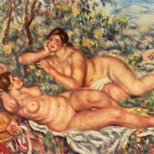 Pierre-Auguste Renoir, The Bathers, 1918-1919, Musée d'Orsay, Paris