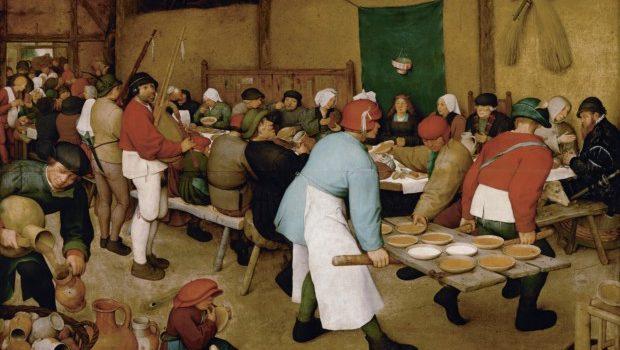 Pieter Bruegel the Elder, The Peasant Wedding, 1567, Kunsthistorisches Museum Vienna