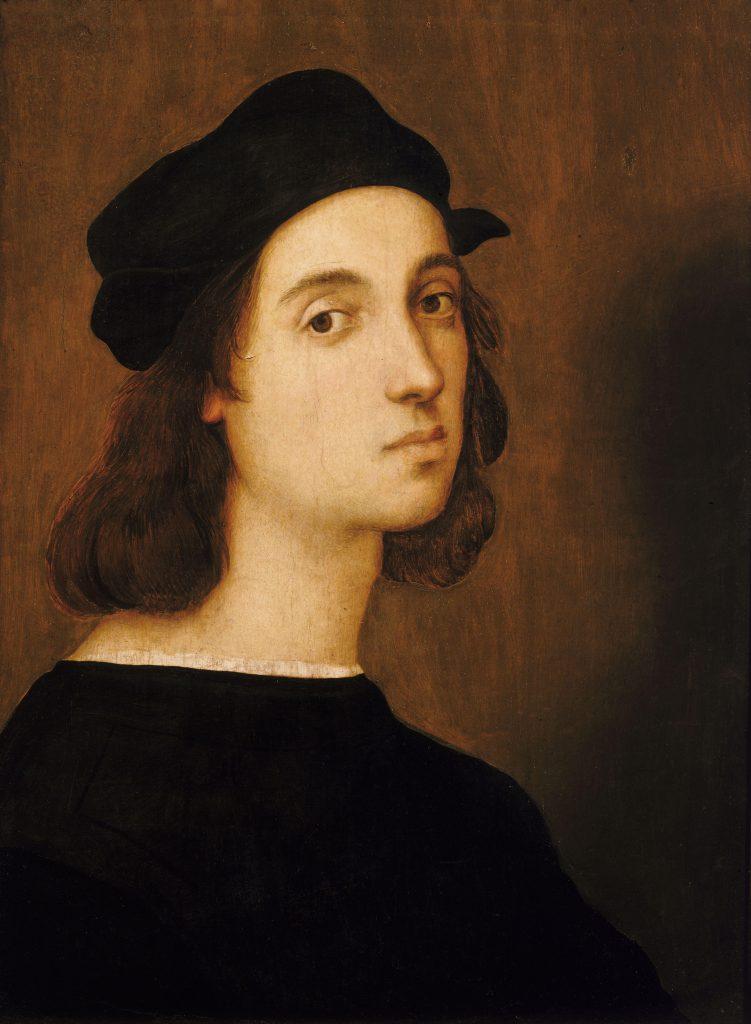 Raphael, Self-portrait, 1506, Uffizi Gallery, Florence