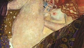 Gustav Klimt, Danae, 1907, Galerie Würthle,Vienna