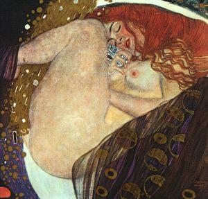 Gustav Klimt, Danae, 1907, Galerie Würthle, Vienna