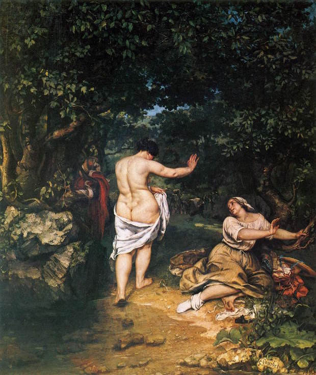 Gustave Courbet, The Bathers, 1853, Musée Fabre, Montpellier