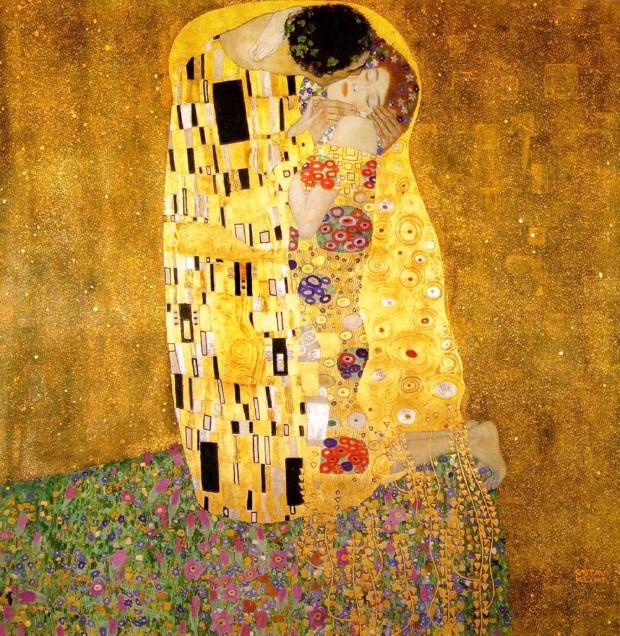 The Kiss (Lovers), 1907–1908, Österreichische Galerie Belvedere