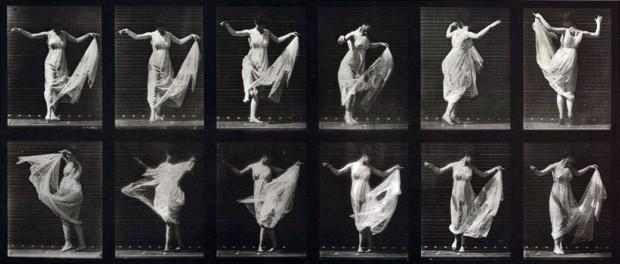 Eadweard J. Muybridge, Woman Dancing (Fancy): Plate 187 from Animal Locomotion (1887)