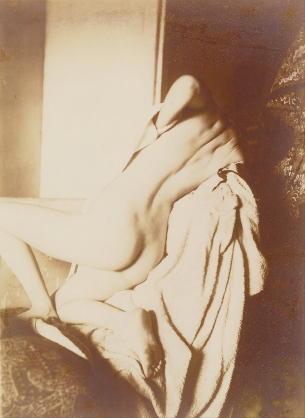 Edgar Degas, After the Bath, Woman Drying her Back 1896, J. Paul Getty Museum