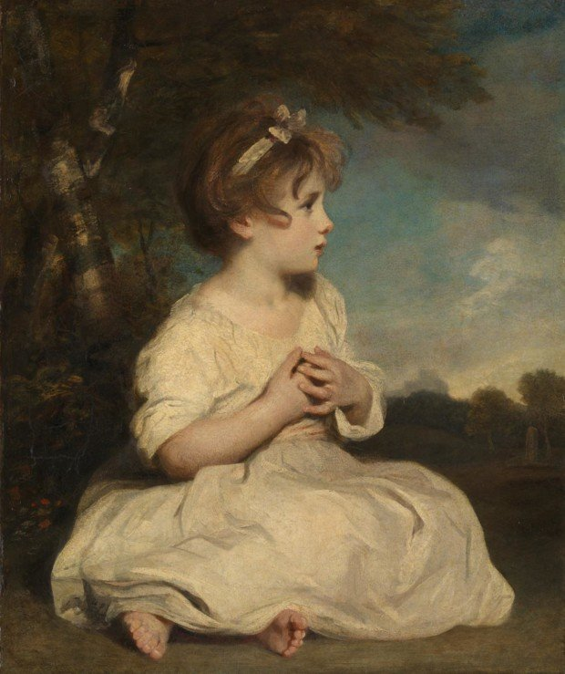 Sir Joshua Reynolds, The Age of Innocence, 1788 (?), Tate Gallery