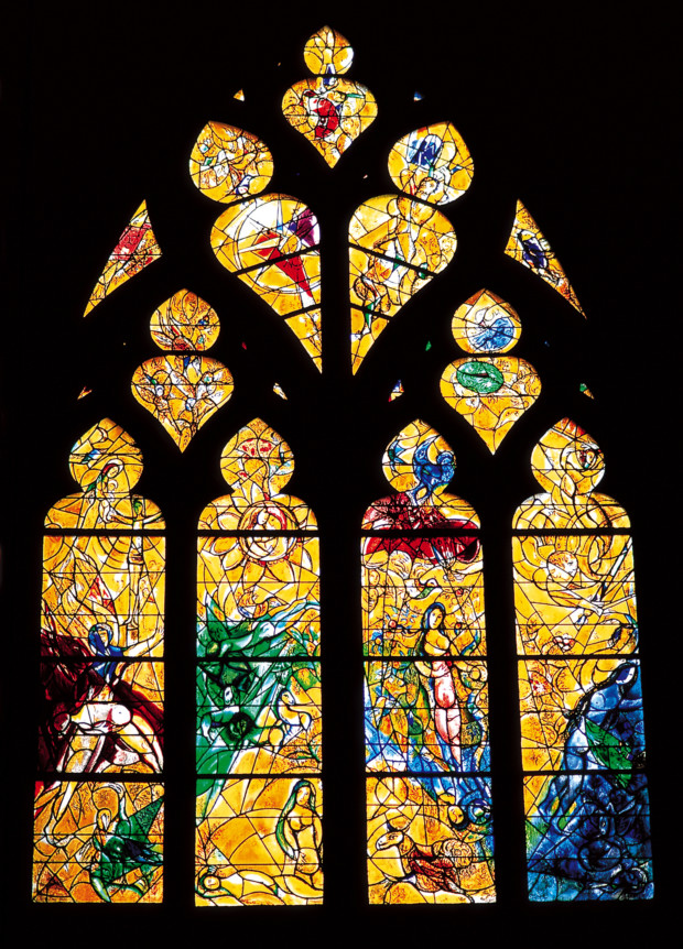 Chagall And The Coloured Glass Dailyartdaily Com