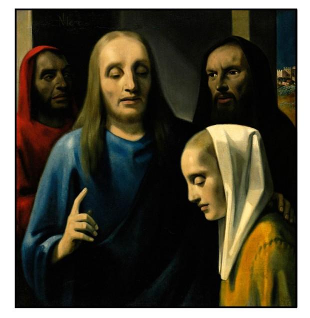 Han van Meegeren, Christ with the Adulteress, 1942