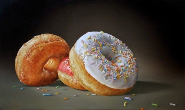 Tjalf Sparnaay, Donuts, 2015, painter's property