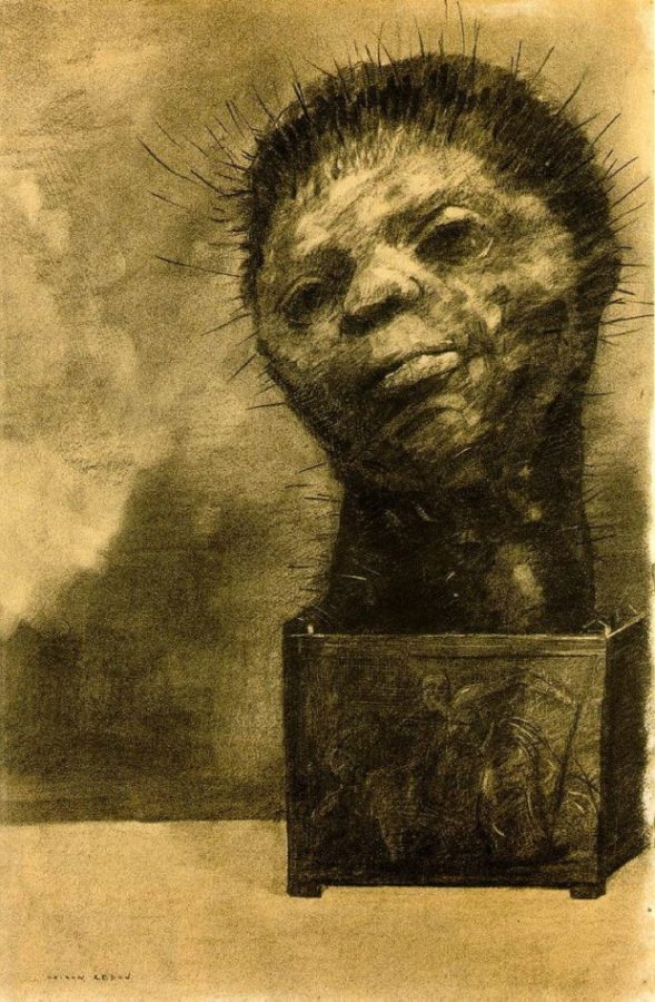 Odilon Redon, Cactus Man, 1881, The Woodner Family Collection