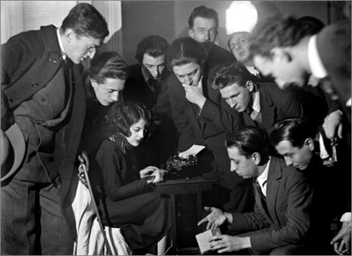 Man Ray, 'Séance de rêve éveillé' (Waking dream session), 42 Rue Fontaine, c.1922