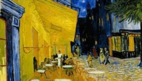 Vincent van Gogh, Cafe Terrace at Night, 1888, Kröller-Müller Museum