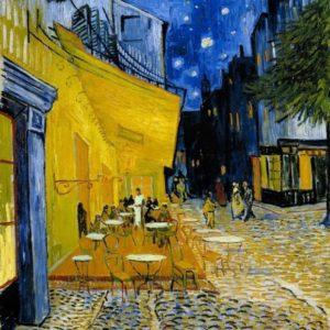 Vincent van Gogh, Cafe Terrace at Night, 1888, Kröller-Müller Museum
