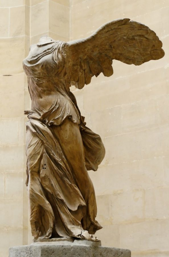 Winged Victory of Samothrace, 3rd or 2nd Century BC, Musée du Louvre, Paris ancient greek sculptures