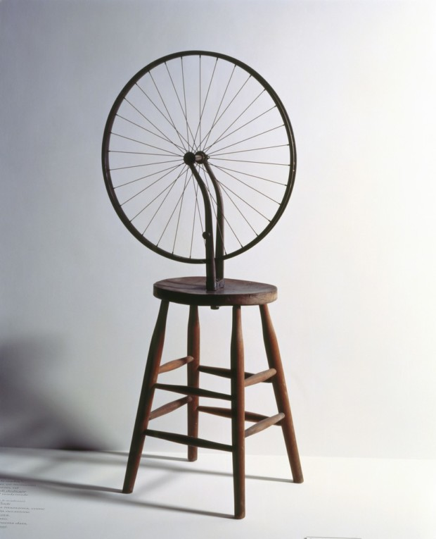Marcel Duchamp Bicycle Wheel, 1963 Private Collection of Richard Hamilton, Henley-on-Thames