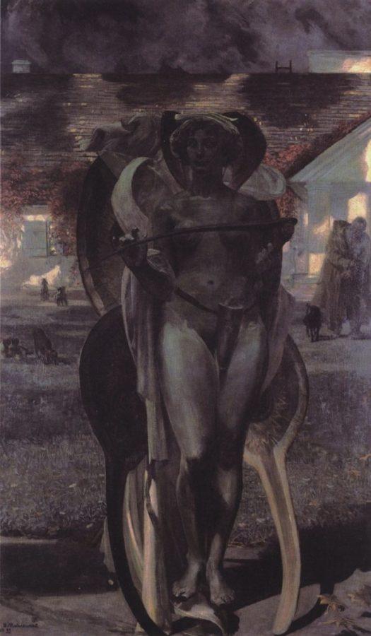 Jacek Malczewski, Thanatos II, 1899, Muzeum of Art in Łódź