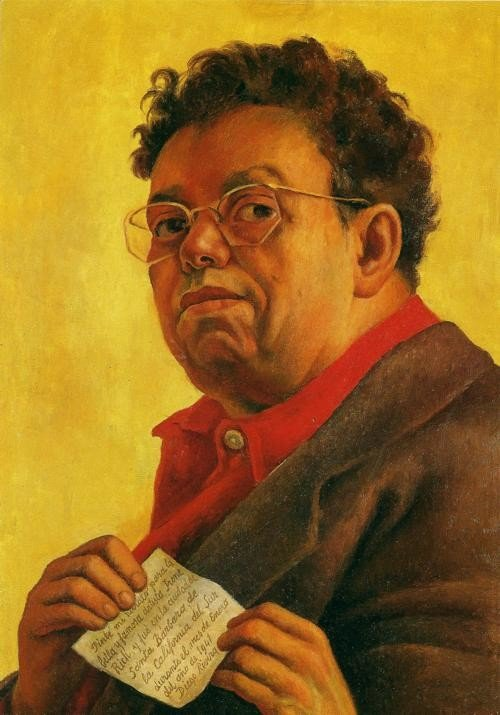 Diego Rivera, The Firestone Self-Portrait, 1941, Museum of Art at Smith College, in Northhampton, Massachusetts