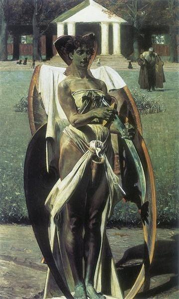 Jacek Malczewski, Thanatos I, 1898, National Museum in Poznań