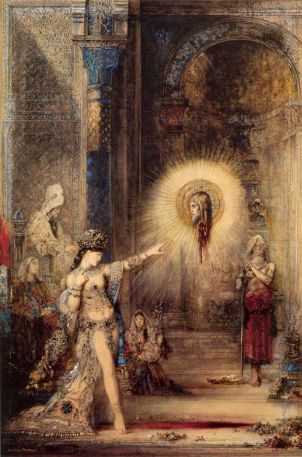 Gustave Moreau, The Apparition, 1876, Musée du Louvre, Paris