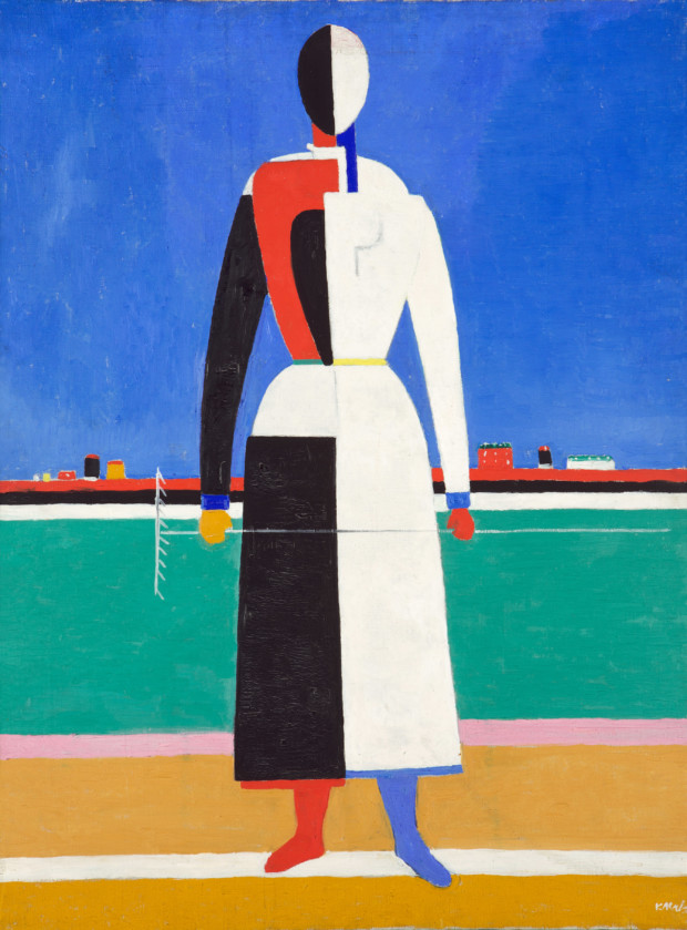 Kazimir Malevich, Woman with Rake, 1932, Tretyakov State Gallery, Moscow, Russia