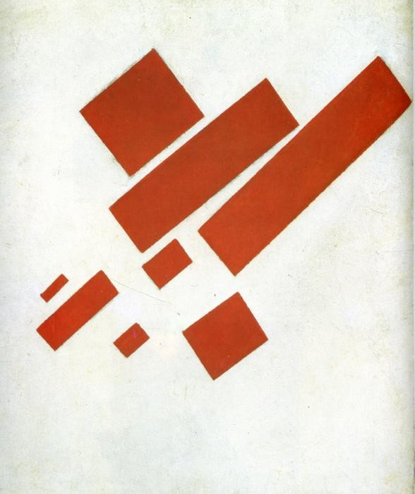 Kazimir Malevich, Suprematist Painting: Eight Red Rectangles, 1915, Stedelijk Museum, Amsterdam