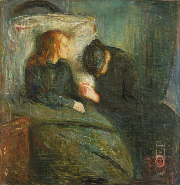 Edvard Munch, The Sick Child, 1896, Konstmuseet, Gothenburg