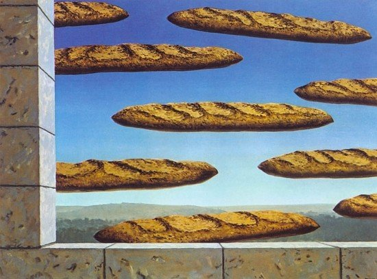 Reneé Magritte, The Golden Legend, 1958, private collection