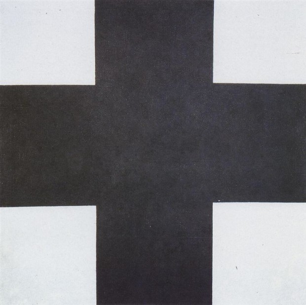 Kazimir Malevich, Black Cross, 1923, Russian State Museum, St. Petersburg