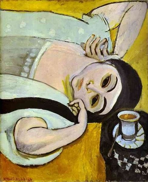 Henri Matisse, Laurette's Head With A Coffee Cup, 1917, Kunstmuseum Solothurn