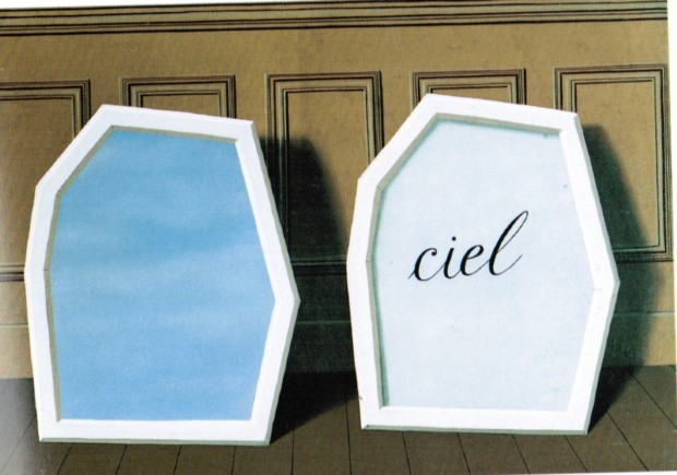 René Magritte, The Palace of Curtains, III, 1928, Museum of Modern Art, New York