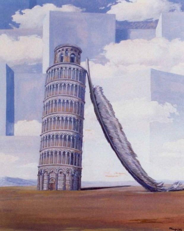 René Magritte, Memory of a Journey, 1958, private collection
