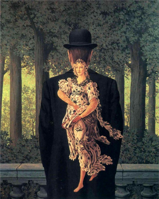 Reneé Magritte, The Prepared Bouquet, 1951, private collection