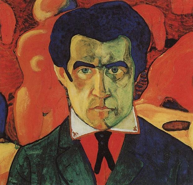 Kazimir Malevich, Self-portrait, 1910, Tretyakov Gallery, Moscow