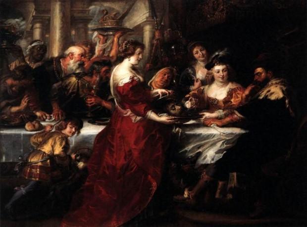 Peter Paul Rubens, The Feast of Herod, 1633, National Gallery, Edinburgh