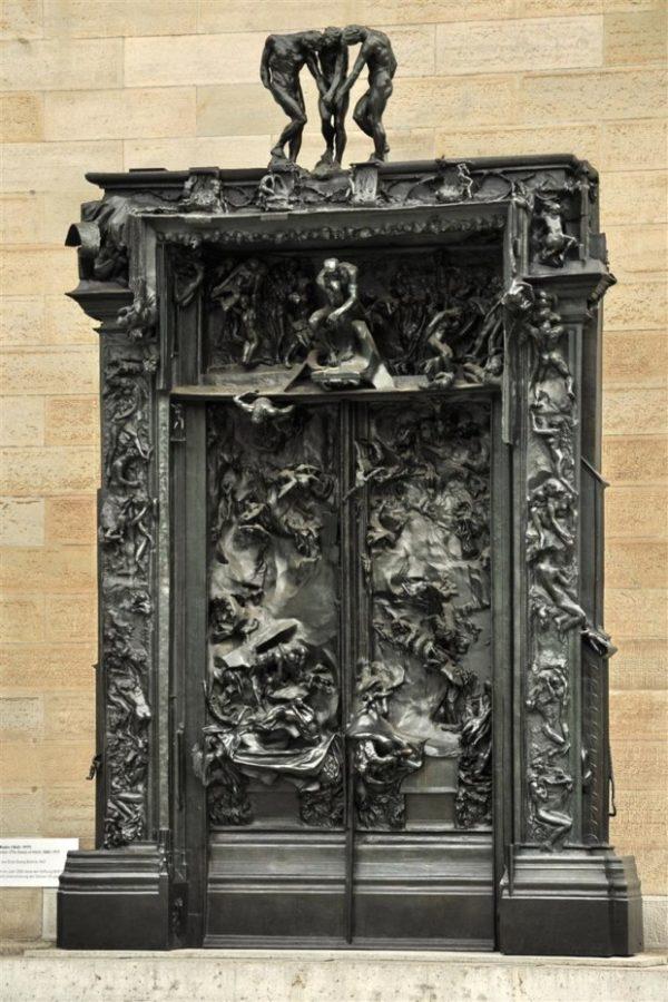 Auguste Rodin, The Gates of Hell, 1917, Kunsthaus Zürich, Zürich, Switzerland