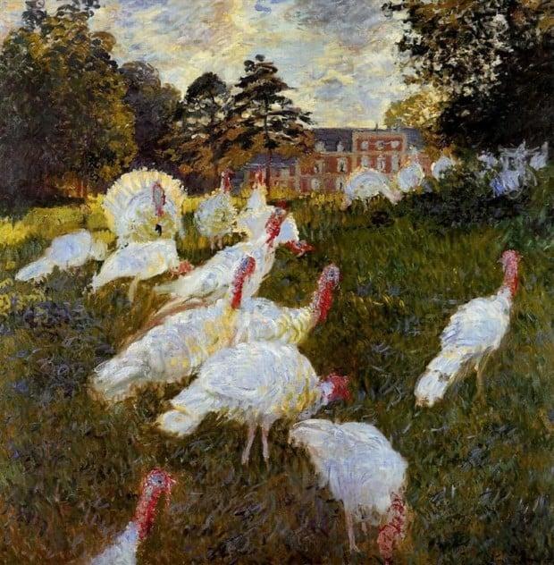 Claude Monet, The Turkeys, 1876, Musée d'Orsay