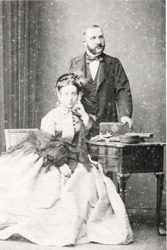Anonymous, Monet's Parents, Louise-Justine and Adolphe Monet, ca. 1855