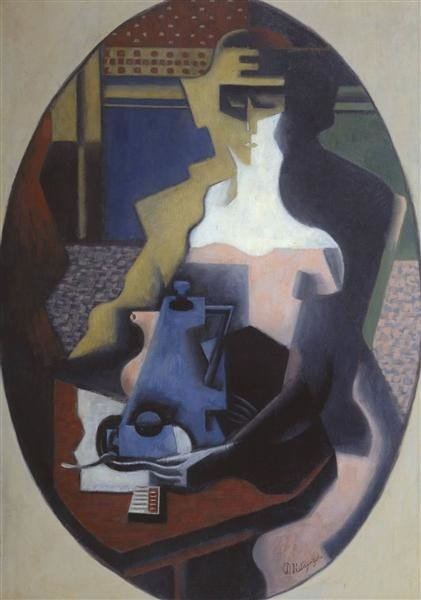 Jean Metzinger, Woman With A Coffee Pot, 1919, Tate