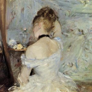 Berthe Morisot, Woman at Her Toilette, 1875/80, Art Institute of Chicago