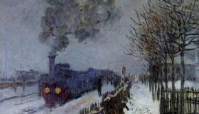 Claude Monet, The Train in the Snow, 1875, Musée Marmottan, Paris.