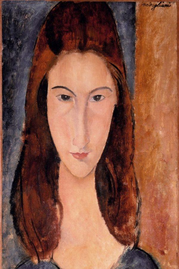 Amedeo Modigliani, Jeanne Hébuterne, 1919, private collection