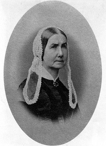 Anna Whistler circa 1850s.