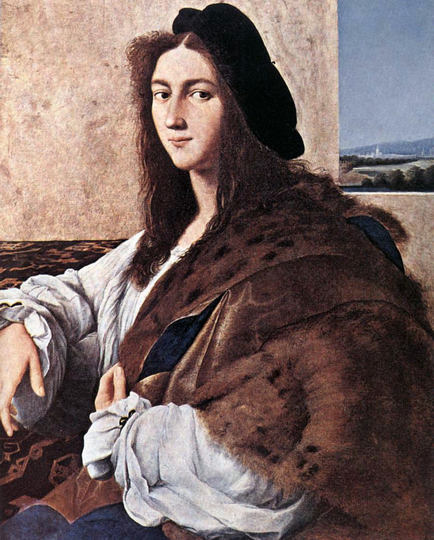 Raphael, Portrait of a Young Man, 1514, lost