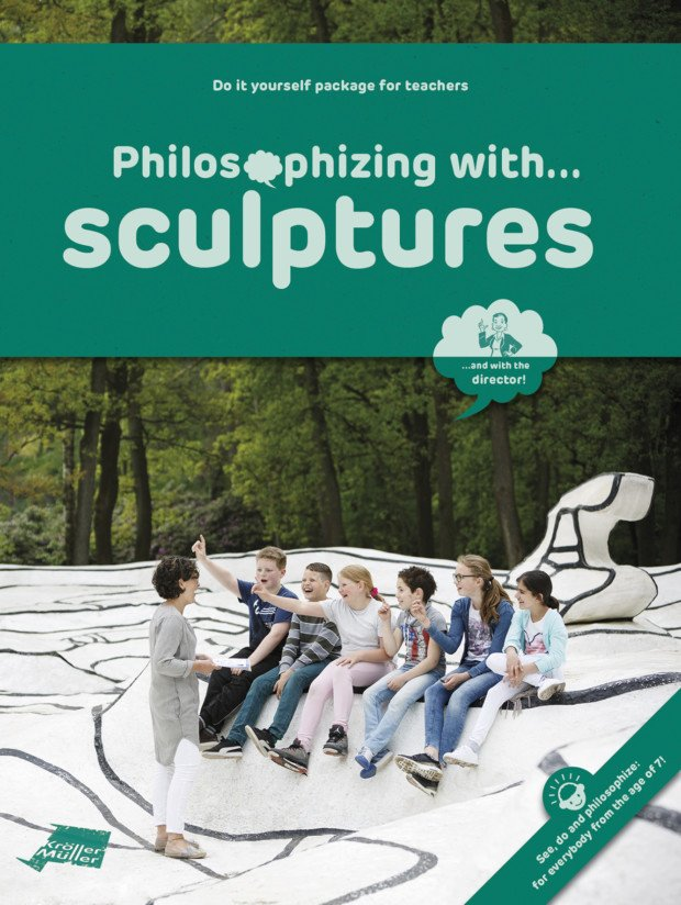 Cover education package 'Philosophizing with sculptures'