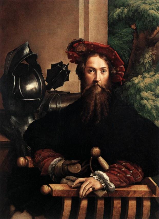 Parmigianino, Gian Galeazzo Sanvitale, Count of Fontanellato 1524, Pinacoteca, Museo Nazionale, Naples